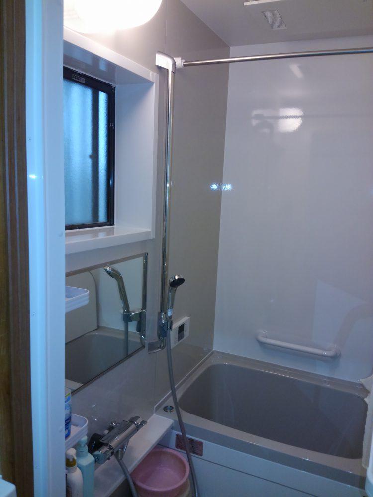 バリアフリーの浴室/西宮市