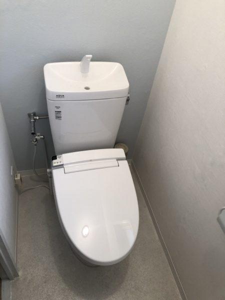 トイレ入替工事/西宮市